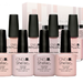 Display lac unghii CND Shellac & Vinylux Nude